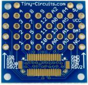 tinyshield proto board without top connector photo
