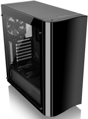 case thermaltake view 22 tempered glass edition black photo