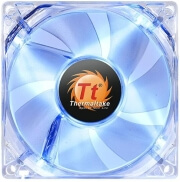 thermaltake pure 8 led blue fan 80mm photo