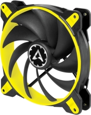 arctic bionix f140 gaming fan with pwm pst 140mm yellow photo