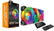 cougar vortex rgb spb 120 pwm hdb cooling kit 3 pcs 120mm photo