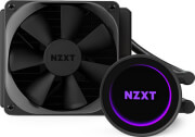 nzxt kraken m22 120mm liquid cooler with argb lighting effects photo
