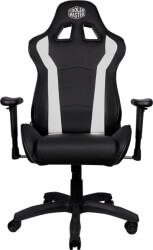 coolermaster caliber r1 gaming chair white photo