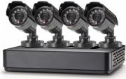 conceptronic c4cctvkitm1tb 4 channel recorder set 4 cameras 1 4 cmos ccd 700tvl photo