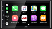 jvc kw m745dbt digital media receiver with 68 display apple carplay android auto dab bluetooth photo