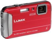 panasonic lumix dmc ft30 red photo
