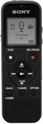 sony icd px370 mono digital voice recorder 4gb with built in usb black photo