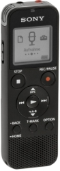 sony icd px470 digital voice recorder 4gb with built in usb black photo