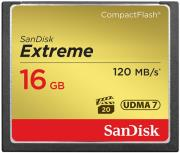 sandisk sdcfxs 016g x46 extreme 16gb compact flash udma 7 memory card photo