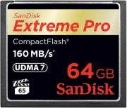 sandisk sdcfxps 064g x46 extreme pro 64gb compact flash udma 7 memory card photo