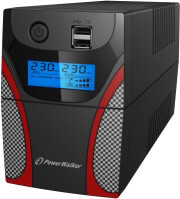powerwalker vi 650 gx line interactive ups 650va 360w photo