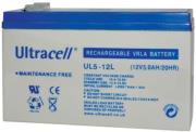 ultracell ul5 12l 12v 5ah replacement battery photo