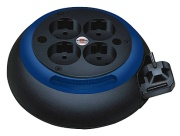 brennenstuhl comfort line cl s 4socket blue black photo