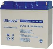 ultracell ul18 12 12v 18ah replacement battery photo