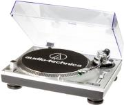 audio technica at lp120usbhc direct drive professional stereo usb turntable silver photo