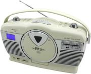 soundmaster rcd1350be retro cd mp3 usb radio beige photo