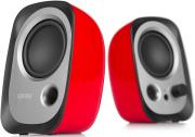 edifier r12u 20 speaker system red photo