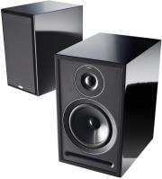 acoustic energy 301 stand mount loudspeaker set gloss black photo