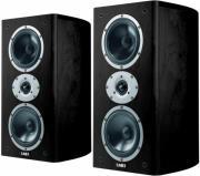 acoustic energy aelite 2 bookshelf speakers set black veneer photo