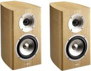 acoustic energy radiance 1 bookshelf speakers set antique ash brown photo