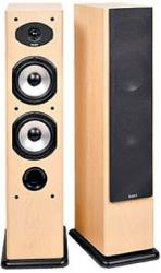 acoustic energy aesprit 309 floorstanding speakers set cherry photo