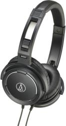 audio technica ath ws55 solid bass over ear headphones black photo