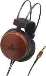 audio technica ath w1000x audiophile closed back dynamic wooden headphones photo