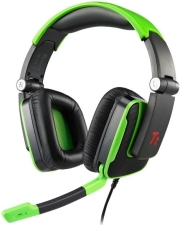 thermaltake esports console one 51 dts gaming headset green photo