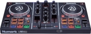 numark party mix dj controller with built in light show photo