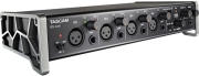tascam us 4x4 4 in 4 out audio midi interface with hdda mic preamps and ios compatibility photo