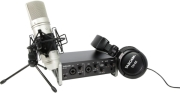 tascam trackpack 2x2 complete recording bundle photo
