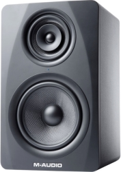 m audio m3 8 black 3 way active studio monitor photo