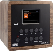 imperial dabman d10 dab rds pll uhf radio wood design photo