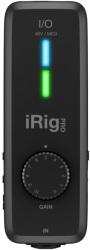 ik multimedia irig pro i o audio and midi interface for mac windows ios photo