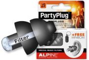 alpine partyplug earplugs black photo