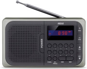 akai apr 210 portable digital radio with usb micro sd photo
