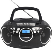 blaupunkt bb16bk cc cd mp3 usb boombox with pll fm radio black photo