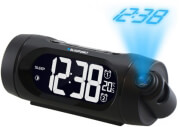 blaupunkt crp9bk clock radio with usb charging and time projection photo