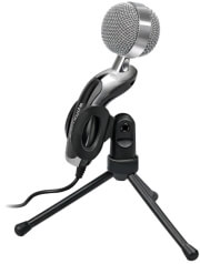 promate tweeter 6 digital table hd microphone with swivel base photo