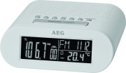 aeg mrc 4145 clock radio white photo