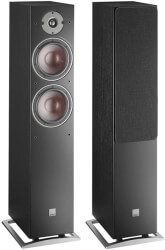 dali oberon 7 floorstanding loudspeaker black photo