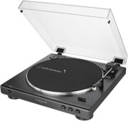 audio technica at lp60x bk fully automatic belt drive turntable black photo