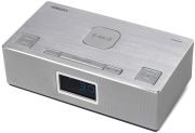 horizon acustico hav p4200 qi wireless clock radio clock radio speakers 20 10w silver photo