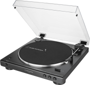 audio technica at lp60x bt fully automatic wireless belt drive turntable black photo