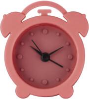 hama 123142 mini silicone alarm clock coral photo