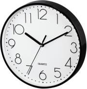 hama 123165 pg 220 wall clock silent black photo