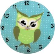 hama 136213 wall clock owl photo