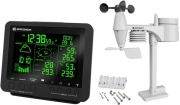 bresser 5 in 1 professional weather center with 256 colour display black photo