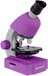 bresser junior 40x 640x microscope lilac photo