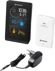 bresser colour weather station temeo life h black photo